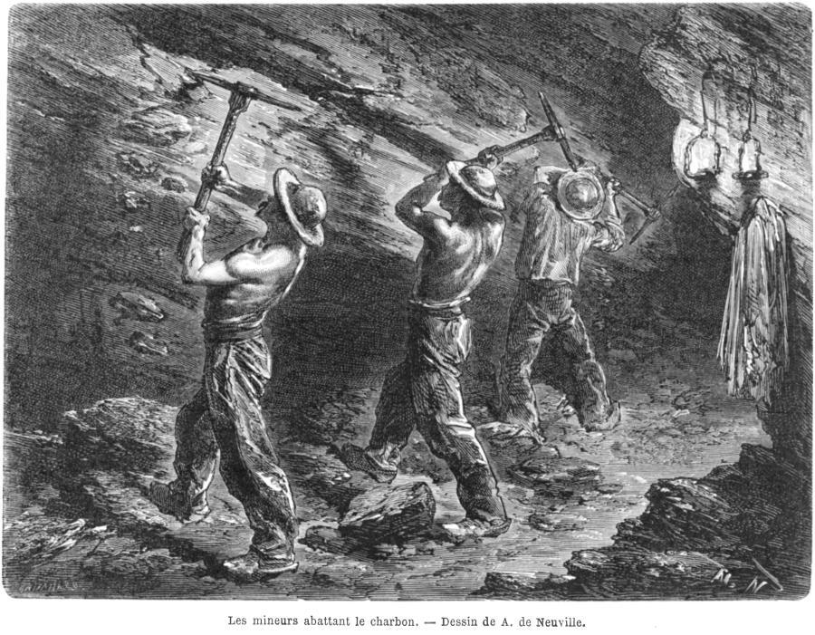 le travail dans les mines 187 ecoles sully l 233 ger du bois